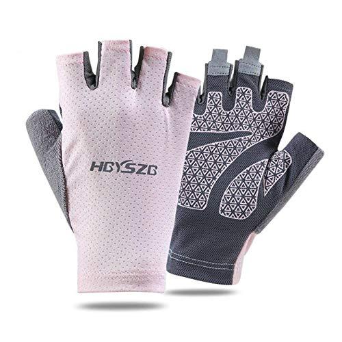 N\C Equipo de protección para Deportes al Aire Libre, Resistente al Desgaste, cómodo, Que Absorbe los Golpes, Absorbe el Sudor de Dedos completos y Medio Dedo.