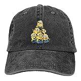 Despicable me Pyramid of Minions Men/Women Cowboys Hats Baseball Hat Black