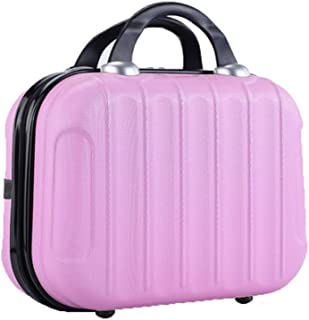 Honeytecs Travel Makeup Bag Portable Cosmetic Organizer Case Waterproof Storage Bag for Cosmetics Makeup Brushes Toiletry ...