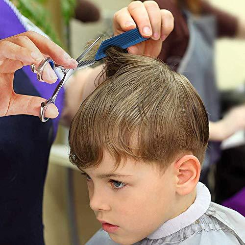 AGKupel散髪ヘアカットハサミ理容理髪はさみセット散髪ヘアカット理容室理髪はさみ/はさみ、薄毛はさみシザー左右プロ初心者美容師向けステンレス製セルフカットプロ仕様