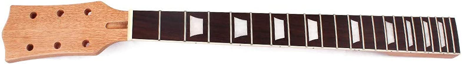 Electric Guitar Neck Replacement 22 Fret 24.75 Inch Mahogany Truss Rod Bolt On