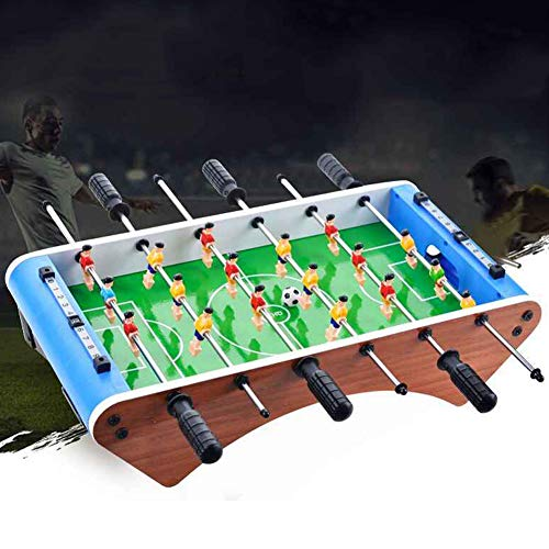 JULYKAI Tabletop Foosball Table,Funny Simulation 6 Rod Table Football Soccer Games Kid Toy for Home Family Party Multi Game Table Table Top Foosball(Football Board)