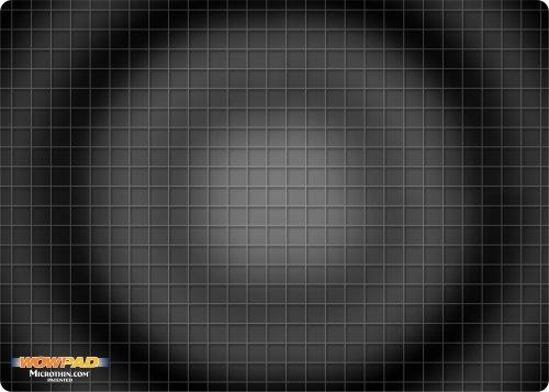 WOW!PAD 5' x 7' Laptop/Notebook Mouse Pad-Black Graphite Tech (57LT29-002)