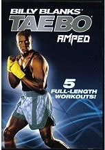 BILLY BLANKS TAE BO AMPED - 5 Workouts DVD Set - Jump Start Cardio, Fat Burn Accelerator, Full Throttle, Core Express & Live in LA