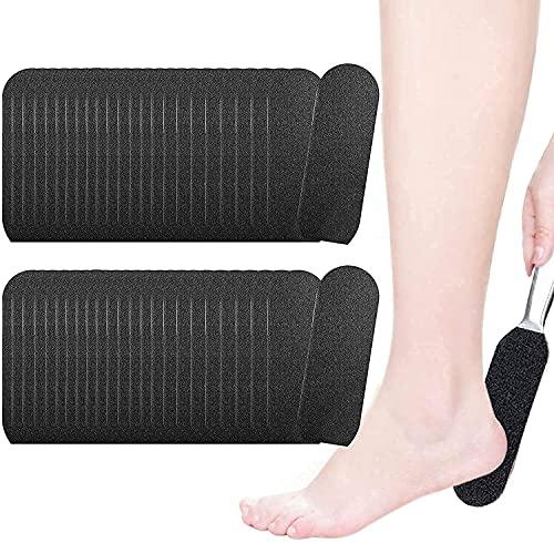 EBANKU 50pcs Lima de pie para herramientas pedicura lima de pedicura para pies relleno de papel escofina de repuesto para pedicura