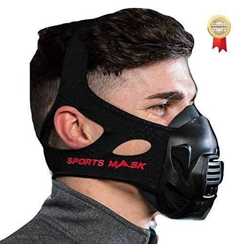 OXYGEN ADVANTAGE MÁSCARA DE Fitness Diseñado por el Experto en respiración Patrick McKeown | Entrenamiento en altitud al Nivel del mar | Máscara de Entrenamiento y Máscaras para Deportes