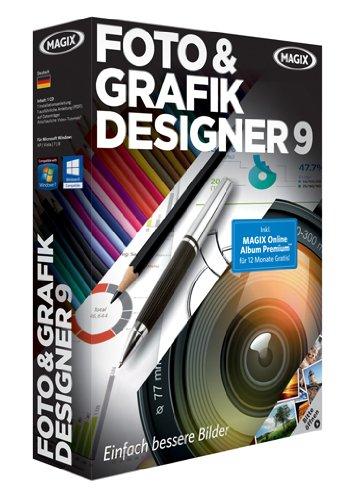 Magix Foto & Grafik Designer 9 [import allemand]