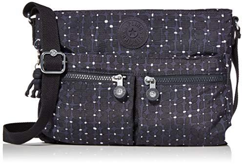 Kipling Women's Angie Handbag Messenger Bag, Tile Print, One Size