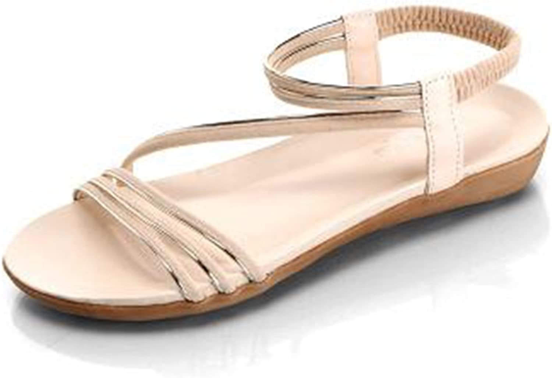 Summer Women Jelly Flats Rubber Open Toe Beach Sandals Gladiator Sandalias women Ladies shoes