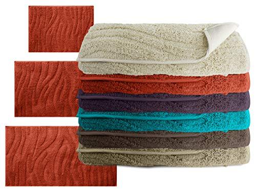 die extra Streicheleinheit für Ihre Füße - Badteppich Motiv Welle - klassisch + modern +...