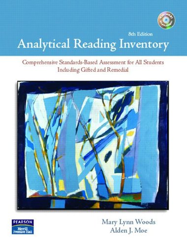 Analytical Reading Inventory (8th Edition) with 2 CDs