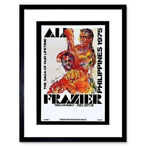 The Art Stop Sport AD Boxing Thrilla IN Manila ALI Frazier Fight Philippines Print B12X12334