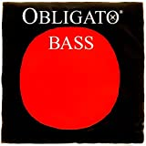 Pirastro Obligato 3/4 Upright Double Bass A String - Medium Gauge - Chromesteel Wound Synthetic Core