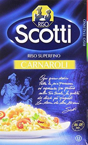 Riso Scotti - Riso Carnaroli - Riso per Risotti Superfino Pronto in 16' - 1 kg