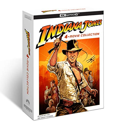 Indiana Jones 4-Movie Collection 4K Ultra HD + Blu-ray [2021]