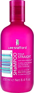 Lee Stafford Poker Straight Cleansing and Conditioning Shampoo Helps Combat Static And Dry Hair 250ml