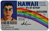 Modelo de licencia de identificación falsa McLovin Fun de Car/Vehículo Accesorios/Piezas