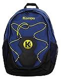 Kempa 200490404 Sac à dos Bleu Profind/Noir/Jaune Citron