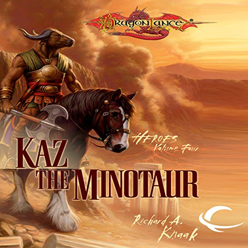 Kaz the Minotaur cover art