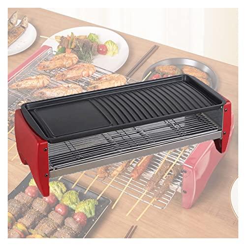 Plancha Eléctrica Antiadherente Parrilla Una Máquina De Barbacoa Que Puede Girar Automáticamente La Plancha De Fiesta for Cocinar Carnes Filete De Mariscos Panqueques