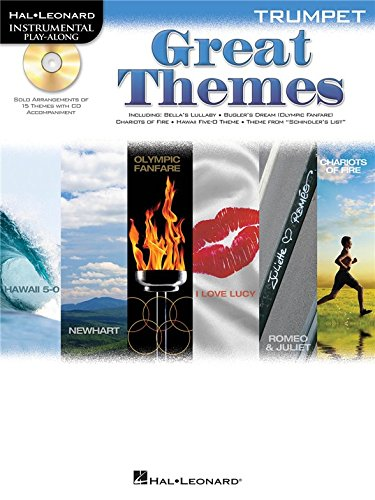 Trumpet Play-Along: Great Themes. Für Trompete