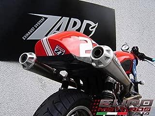 Triumph Thruxton Zard Exhaust Trofeo Full System Dual Silencers + 3HP Muffler