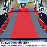Asiento de coche de vuelta Colchón inflable colchón de aire de la bomba y la bolsa de almacenamiento - Camping en la comodidad de su propio vehículo (Color: azul + gris) (Color: azul + amarillo) kyman