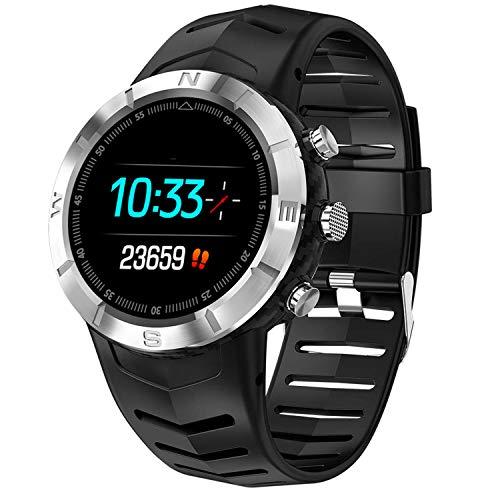 XMYL Fitness Armband mit Pulsmesser, Wasserdicht IP67 Fitness Tracker Sport Smartwatch mit Blutdruckmessgerät Aktivitätstracker für iPhone Samsung Huawei Android IOS Smartphone,A