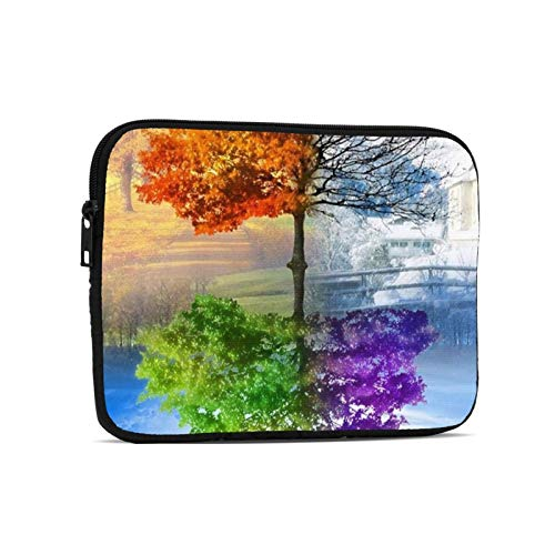 Laptop Sleeve Laptop Case Bag Protective Shockproof Computer Protective Bag Notebook Carrying Case Two Season Trees