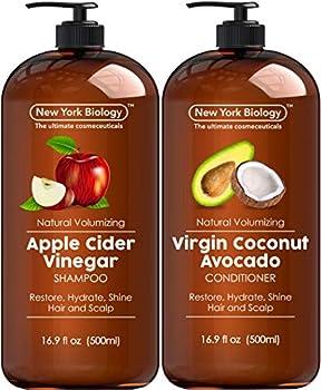 Apple Cider Vinegar Shampoo and Coconut Avocado Oil Conditioner Set