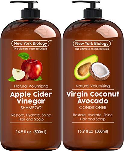 Apple Cider Vinegar Shampoo & Coconut Avocado Oil Conditioner $16.77 (40% OFF)