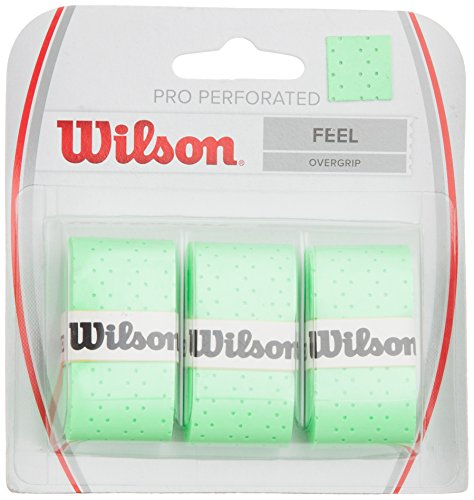 Wilson Perforated Pro Tennis Racquets Over Grip, Green