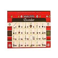 クリスマスアドベントカレンダー、ブレスレットネックレスセット、子供向けファッションブレスレットジュエリー24日間,B
