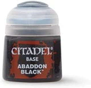 Games Workshop Citadel Base Paint Abaddon Black 12Ml