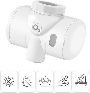 KKmoon Purificador de agua del grifo generador de ozono purificador de agua para uso doméstico para lavar frutas y verduras