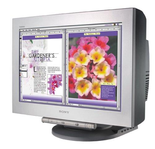 "Sony GDM-FW900 Flat Widescreen 24"" FD Trinitron CRT Monitor"