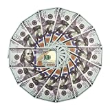 Nakimo Fake Money   $100 Dollar Bills Pretend Money Double-Sided Full PrintPerfect for Movies Prop and Learning, 100PCS ($10000)