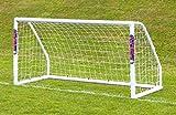 Portería de fútbol - Samba 8 x 4 con esquinas upvc (1 gol)