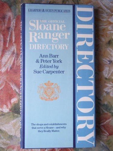 Official Sloane Ranger Directory (Harpers & Queen) by PETER YORK' 'ANN BARR (1984-08-02) ✅
