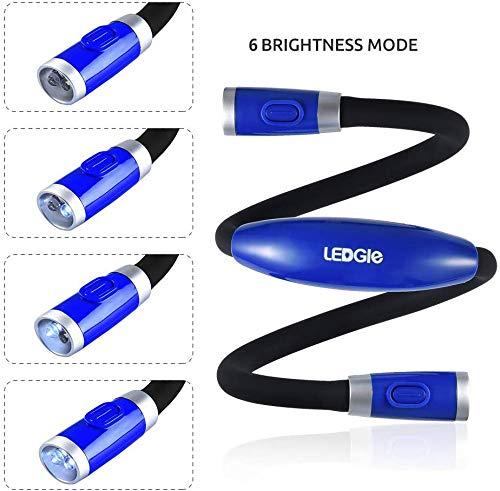 Flexible LED Leselampe zum Umhängen - 3