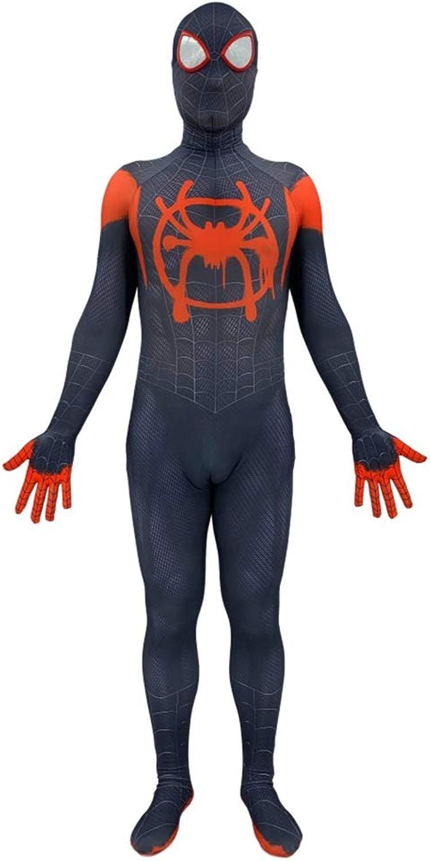 alta calidad y envío rápido GBRALX Anime Spiderman Disfraz Película CosJugar Fiesta Fiesta Fiesta de Halloween Mono Traje de Batalla Juego de rol Traje Disfraz Disfraz,A-L(Bust89-99CM)  selección larga