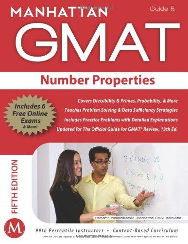 Number Properties GMAT Strategy Guide (Manhattan GMAT Instructional Guide 5)