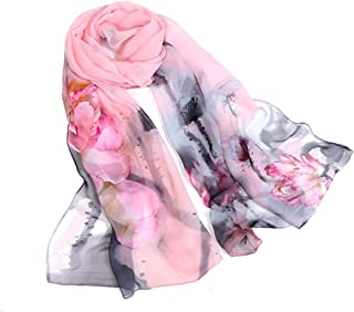 Best large chiffon scarves Reviews