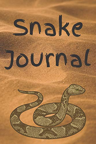 Snake Journal: Write and Draw About Your Slithering Friend
