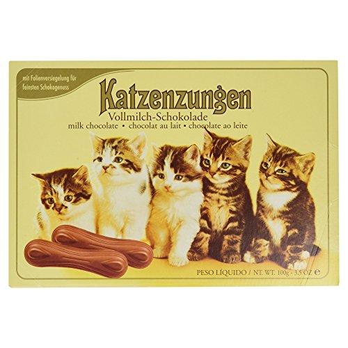 Sarotti Katzenzungen Vollmilch, 5-er Pack (5 x 100 g)