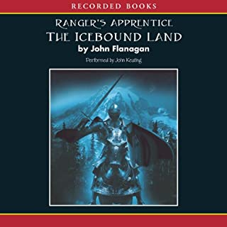 The Icebound Land audiobook cover art