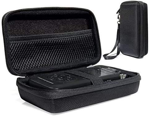 discount Professional Portable Recorder Case for discount Tascam DR-05, DR-40, DR-100MKII Music Recorder with mesh pocket cable, outdoor Microphone Windscreen Muff, Elastic strap, new arrival Strong and light weight hard case outlet online sale