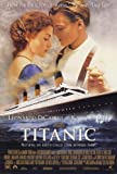 Poster Titanic Film f 11x 17Kate Winslet Leonardo