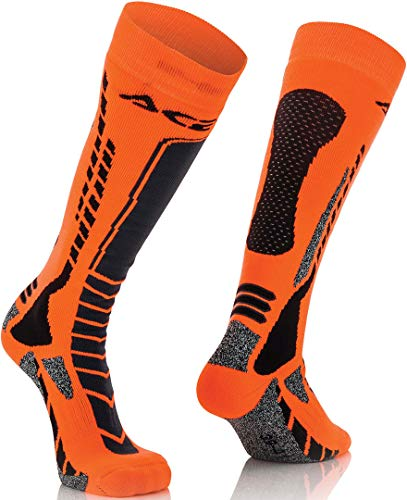 Acerbis Calcetines Moto Cross/Off Road MX Pro L-XL NERO-ARANCIO