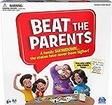 Spin Master Games Board Game for and Kids Aged Over 5 Beat The Parents Juego de Mesa para familias y niños Mayores de 5 años (6062192)